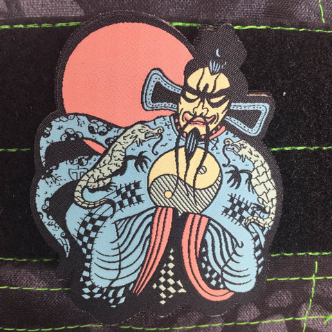 BIG TROUBLE IN LITTLE CHINA FU MANCHU MORALE PATCH - Tactical Outfitters