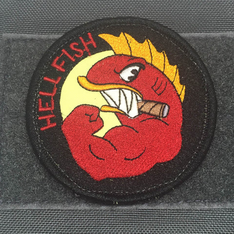 The Flying Hellfish Morale Patch - Tactical Outfitters