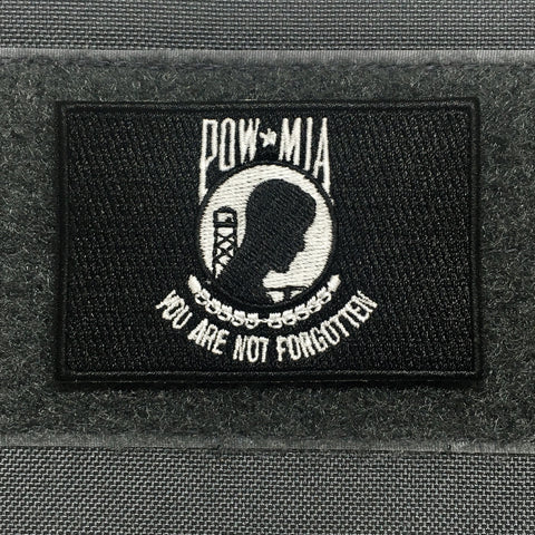 POW-MIA FLAG MORALE PATCH - Tactical Outfitters