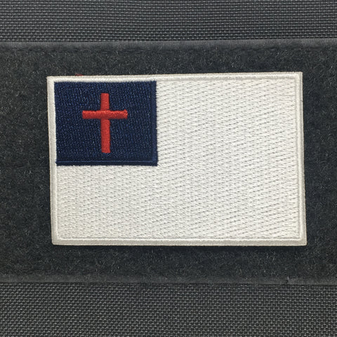 CHRISTIAN FLAG MORALE PATCH - Tactical Outfitters