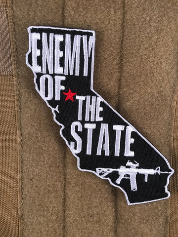 ENEMY OF THE STATE MORALE PATCH - Tactical Outfitters