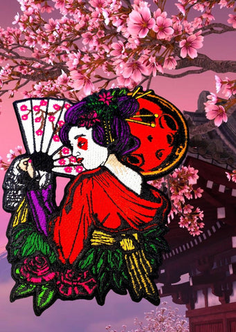 GEISHA MORALE PATCH