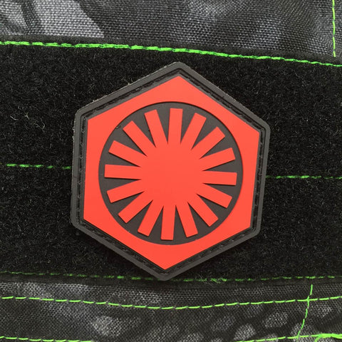 FIRST ORDER PVC MORALE PATCH - Tactical Outfitters