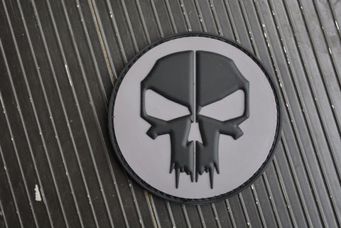 Punisher/Deadpool Mash-up PVC Morale Patch - Tactical Outfitters