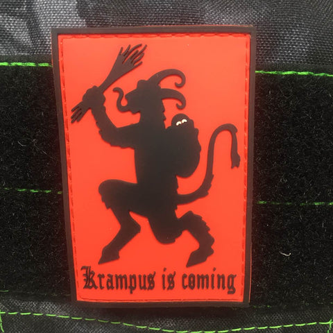KRAMPUS GITD PVC MORALE PATCH - Tactical Outfitters