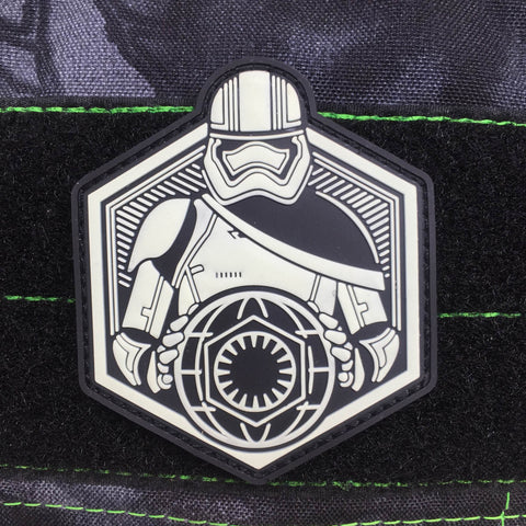 FIRST ORDER RISING GITD PVC MORALE PATCH - Tactical Outfitters