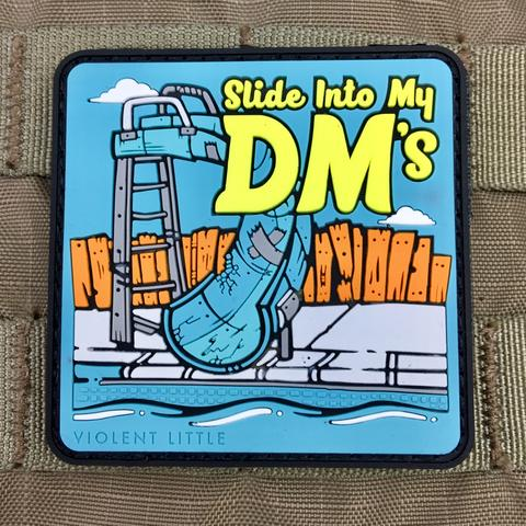 SLIDE INTO MY DM'S MORALE PATCH - Tactical Outfitters
