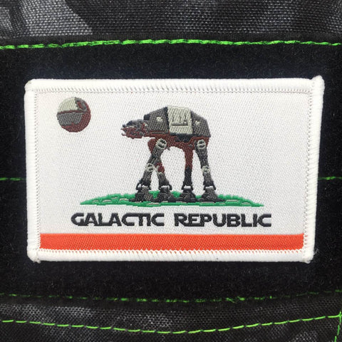 CALIFORNIA GALACTIC REPUBLIC MORALE PATCH - Tactical Outfitters