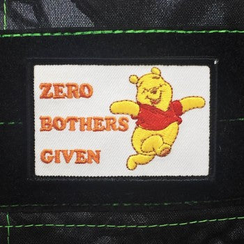 ZERO BOTHERS GIVEN MORALE PATCH - Tactical Outfitters