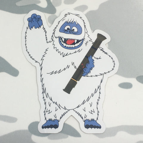 BUMBLE THE ABOMINABLE SNOW MONSTER STICKER - Tactical Outfitters