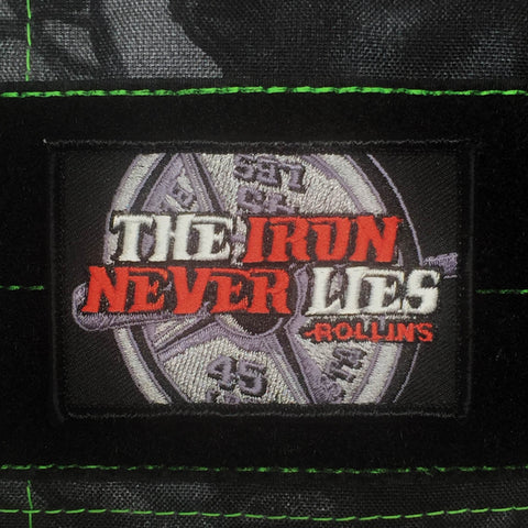 THE IRON NEVER LIES MORALE PATCH - Tactical Outfitters