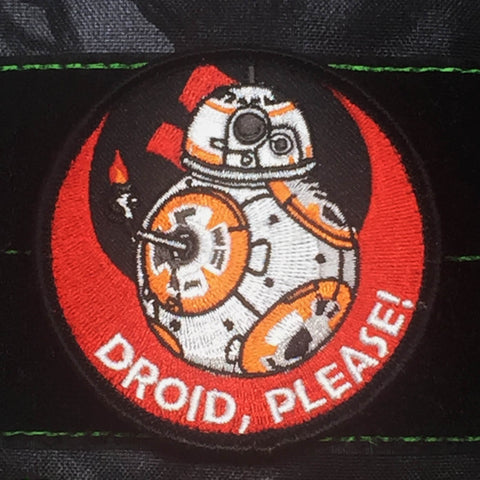 DROID, PLEASE! MORALE PATCH - Tactical Outfitters
