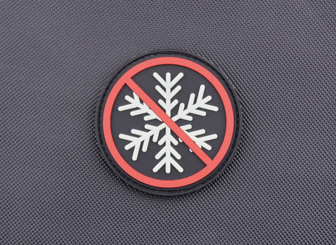 NO SNOWFLAKES ALLOWED GITD 3D PVC MORALE PATCH - Tactical Outfitters
