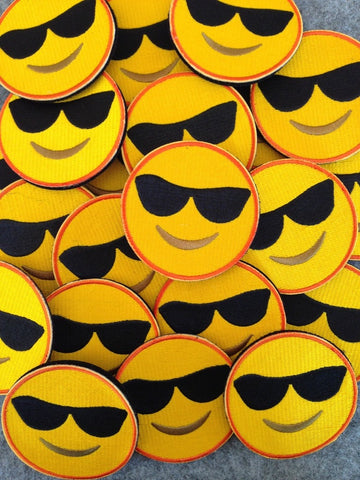 Sunglass Emoji Morale Patch - Tactical Outfitters