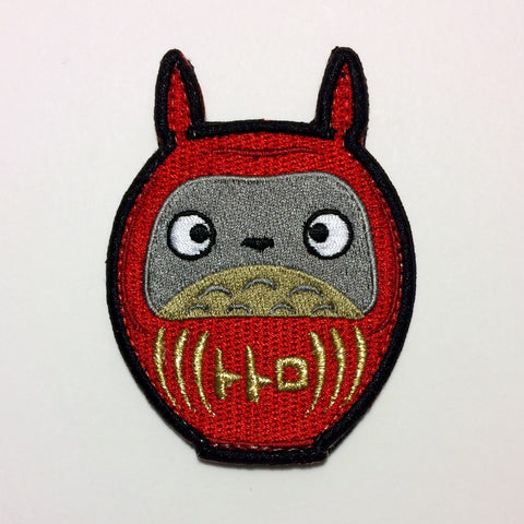 TOTORO DARUMA - MORALE PATCH - Tactical Outfitters