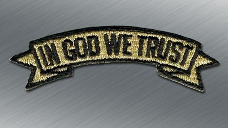 In God We Trust Morale Patch - Tactical Outfitters