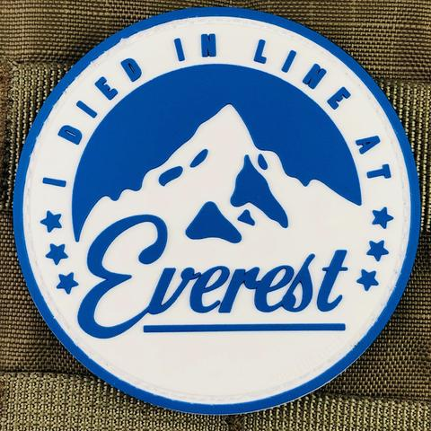 """I DIED IN LINE AT EVEREST"" MORALE PATCH - Tactical Outfitters"