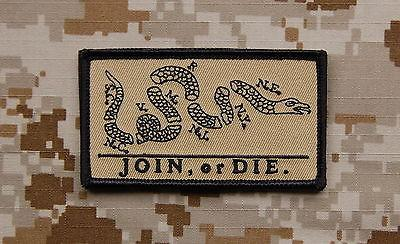 JOIN OR DIE MORALE PATCH - Tactical Outfitters