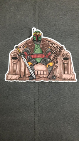 King Boba Sticker - Tactical Outfitters