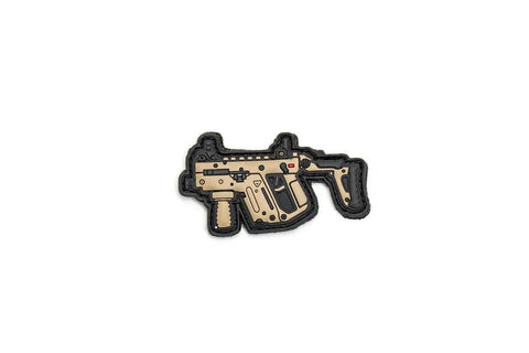 KRISS VECTOR® DESERT PVC PATCH BY APRILLA DESIGN™ - Tactical Outfitters
