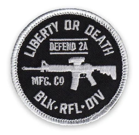 LIBERTY OR DEATH MORALE PATCH - Tactical Outfitters