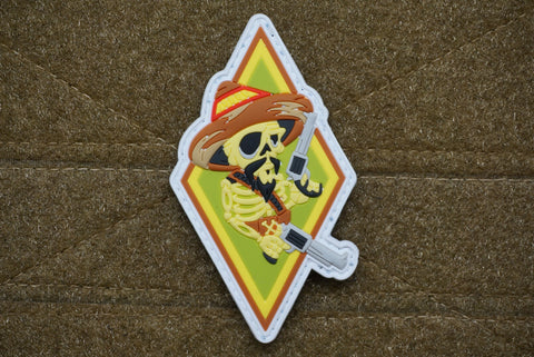 BANDITO PVC GITD MORALE PATCH - Tactical Outfitters