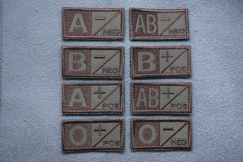 BLOOD TYPE V2 PATCH - Tactical Outfitters