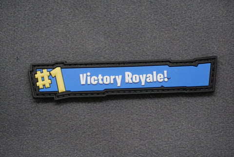VICTORY ROYALE 3D PVC MORALE PATCH - Tactical Outfitters