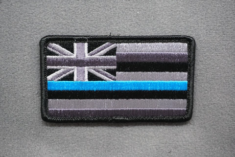 HAWAII STATE FLAG THIN BLUE LINE MORALE PATCH - Tactical Outfitters