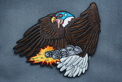 SUPER MEGA FREEDOM EAGLE 9000 MORALE PATCH - Tactical Outfitters