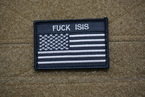 FUCK ISIS US FLAG MORALE PATCH - Tactical Outfitters