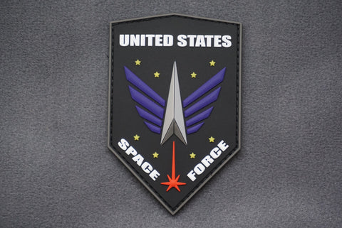 US SPACE FORCE EMBLEM PVC MORALE PATCH - Tactical Outfitters