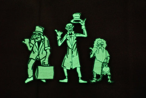 HITCHHIKING GHOST - LIMITED EDITION GITD 4 PIECE MORALE PATCH SET - Tactical Outfitters