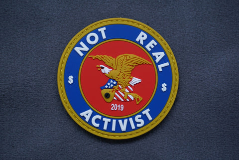 SHOT SHOW LIMITED EDITION - NOT REAL ACTIVIST PVC MORALE PATCH - Tactical Outfitters