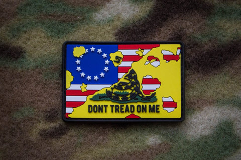 BETSY ROSS/DTOM PVC MORALE PATCH - Tactical Outfitters