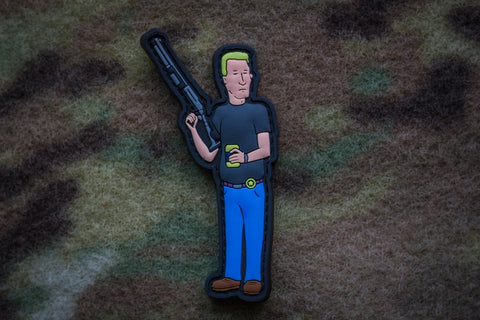 KING OF THE KILL BOOMHAUER PVC MORALE PATCH - Tactical Outfitters