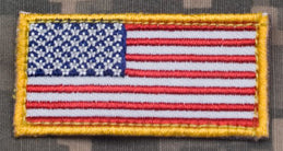 US FLAG MINI PATCH - Tactical Outfitters