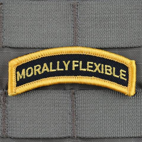 MORALLY FLEXIBLE MORALE PATCH - Tactical Outfitters