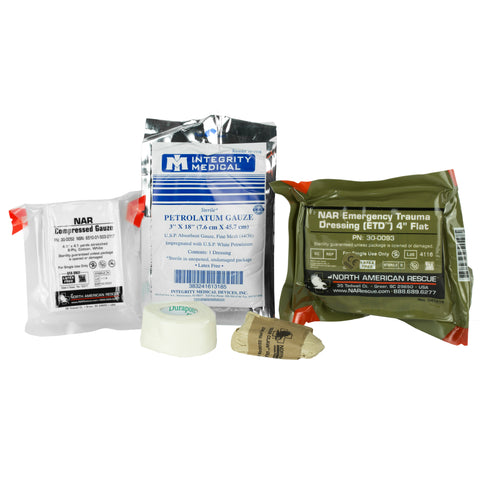 North American Rescue Individual Aid Kit, Medical Kit - Tactical Outfitters