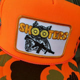 """SHOOTERS"" ORANGE CAMO HUNTING TRUCKER - Tactical Outfitters"