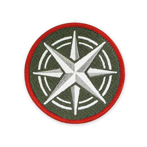 PDW Compass Rose GID V2 Morale Patch - Tactical Outfitters