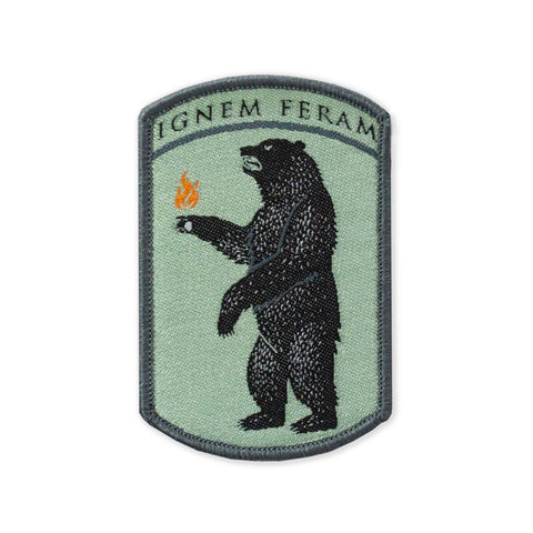 PDW IGNEM FERAM LTD ED Woven Morale Patch - Tactical Outfitters