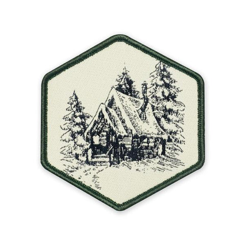 PDW Winter Cabin Vintage Morale Patch - Tactical Outfitters