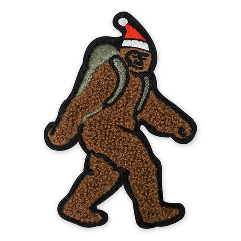 PDW Xmas Sasquatch Chenille Morale Patch - Tactical Outfitters