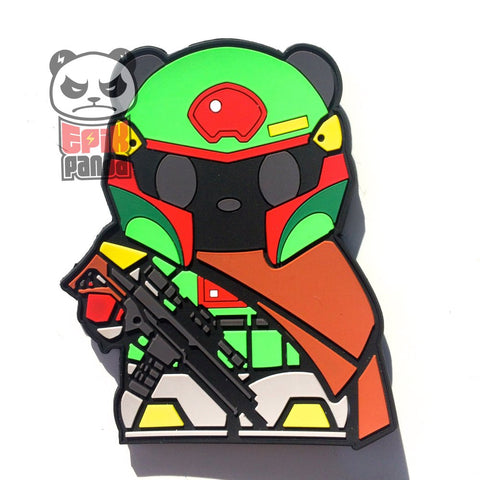 PMC PANDA (HERO PANDA) PVC MORALE PATCH - Tactical Outfitters