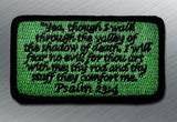 PSALM 23:4 MORALE PATCH - Tactical Outfitters