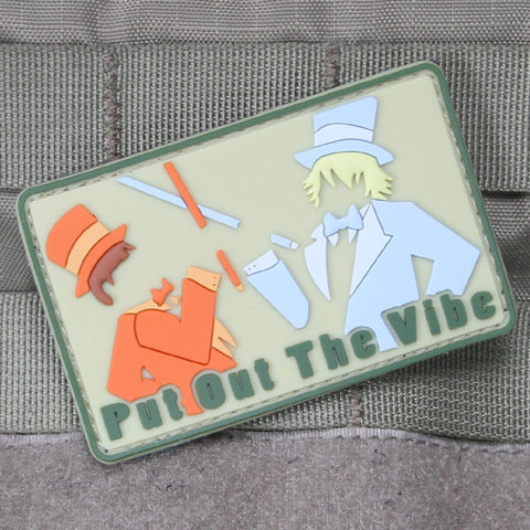 Put Out The Vibe PVC Patch - Tactical Outfitters