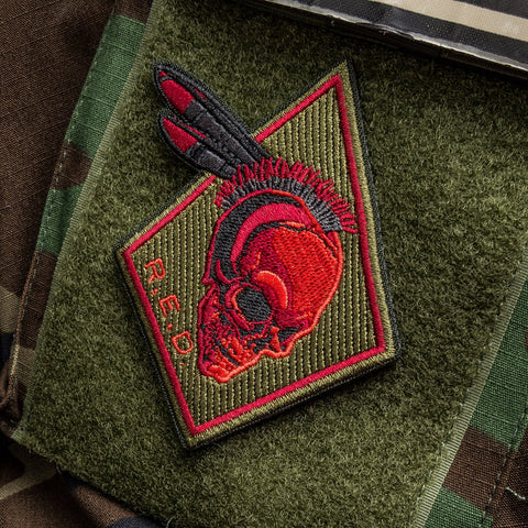 R.E.D. NATIVE MORALE PATCH - Tactical Outfitters