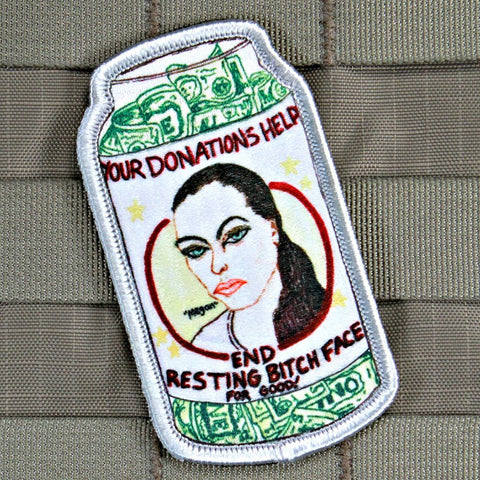 RESTING BITCH FACE MORALE PATCH - Tactical Outfitters