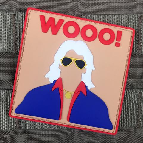 "RIC FLAIR ""WOOO!"" MORALE PATCH - Tactical Outfitters"